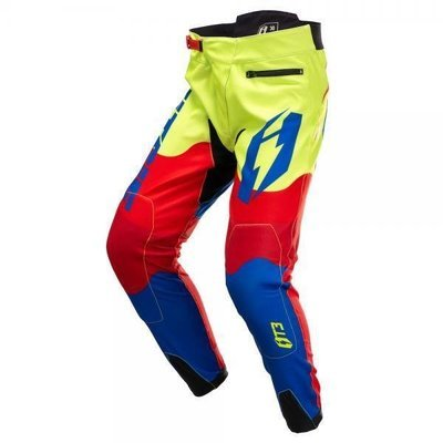 Jitsie T3 Wave Pant Red, Fluo Yellow, Blue