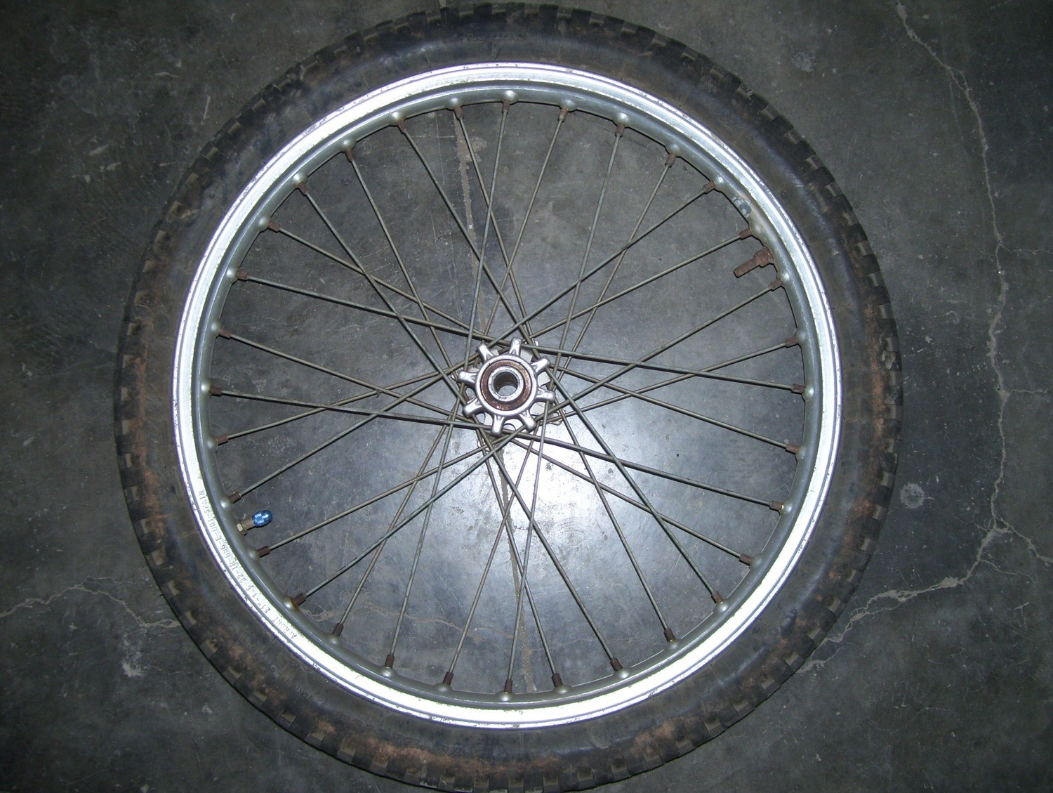 Beta Rev/techno front wheel
