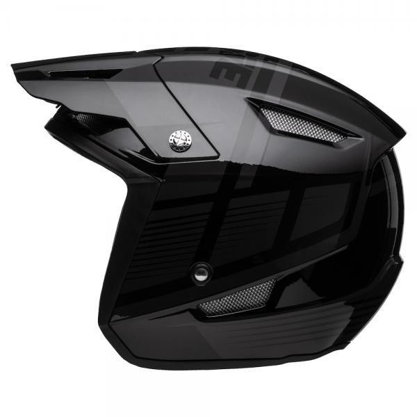 Jitsie HT1 polycarbonate Helmet Black-Struktur