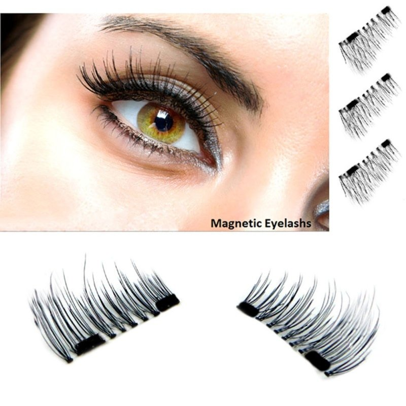 Easy Magnetic Eyelashes 1 Pair Apply In Seconds Reusable No