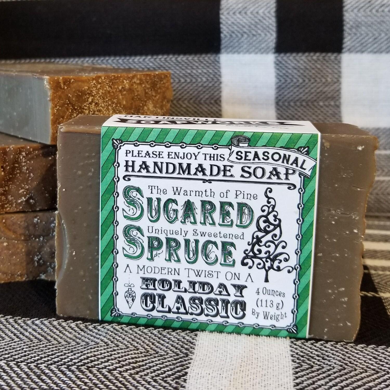 Sugared Spruce Handmade Soap