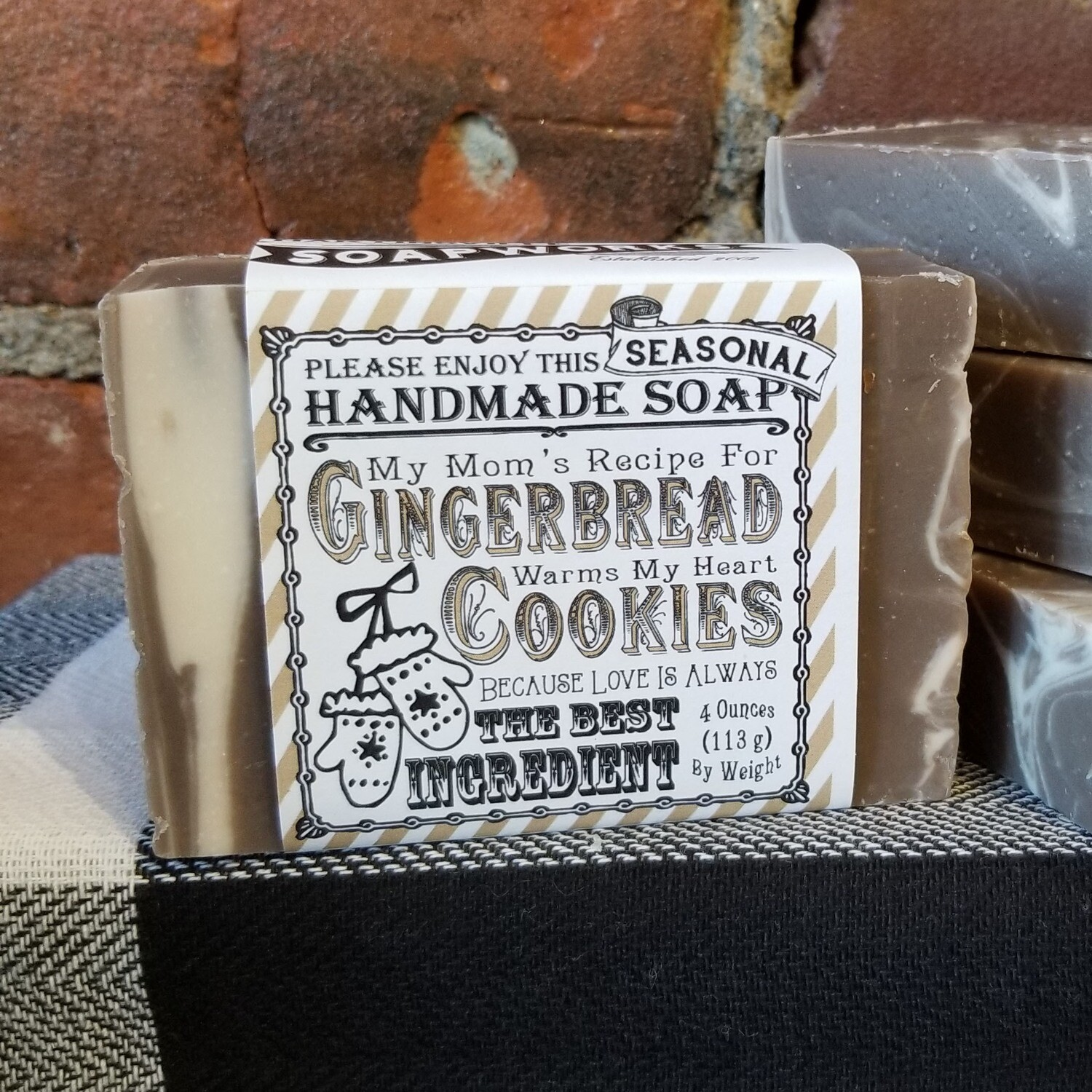 Gingerbread Cookies Handmade Soap