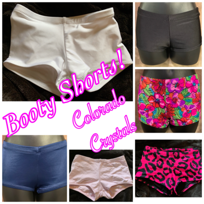 Dance/gymnastics/cheer Shorts Custom made Child~ Like new