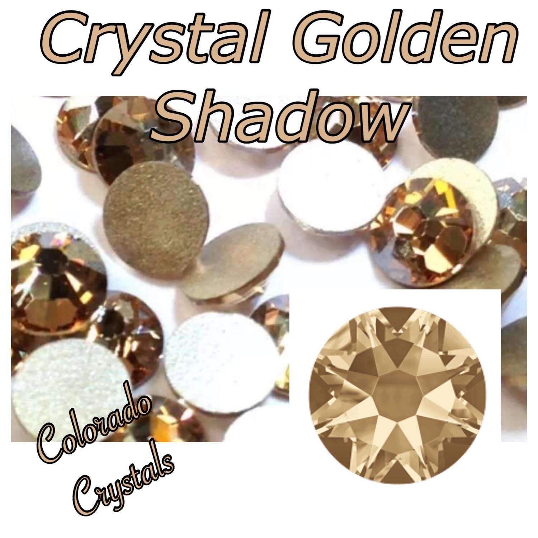 Crystal Golden Shadow 5ss 2058 Swarovski Limited Crystals
