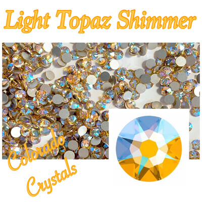 Light Topaz Shimmer 12ss 2088 Limited Swarovski