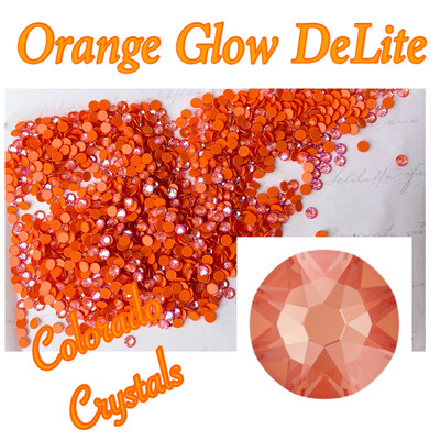 Orange Glow DeLite (Crystal) 12ss 2088 Limited Swarovski Pro Lacquer