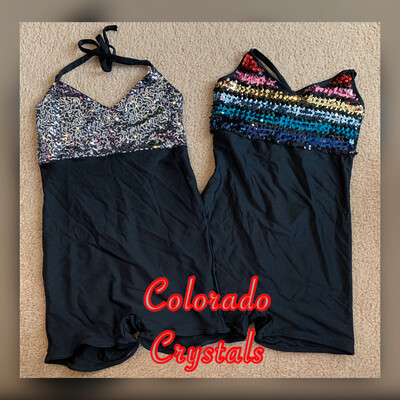Unitard Sequin Outfit New Dance