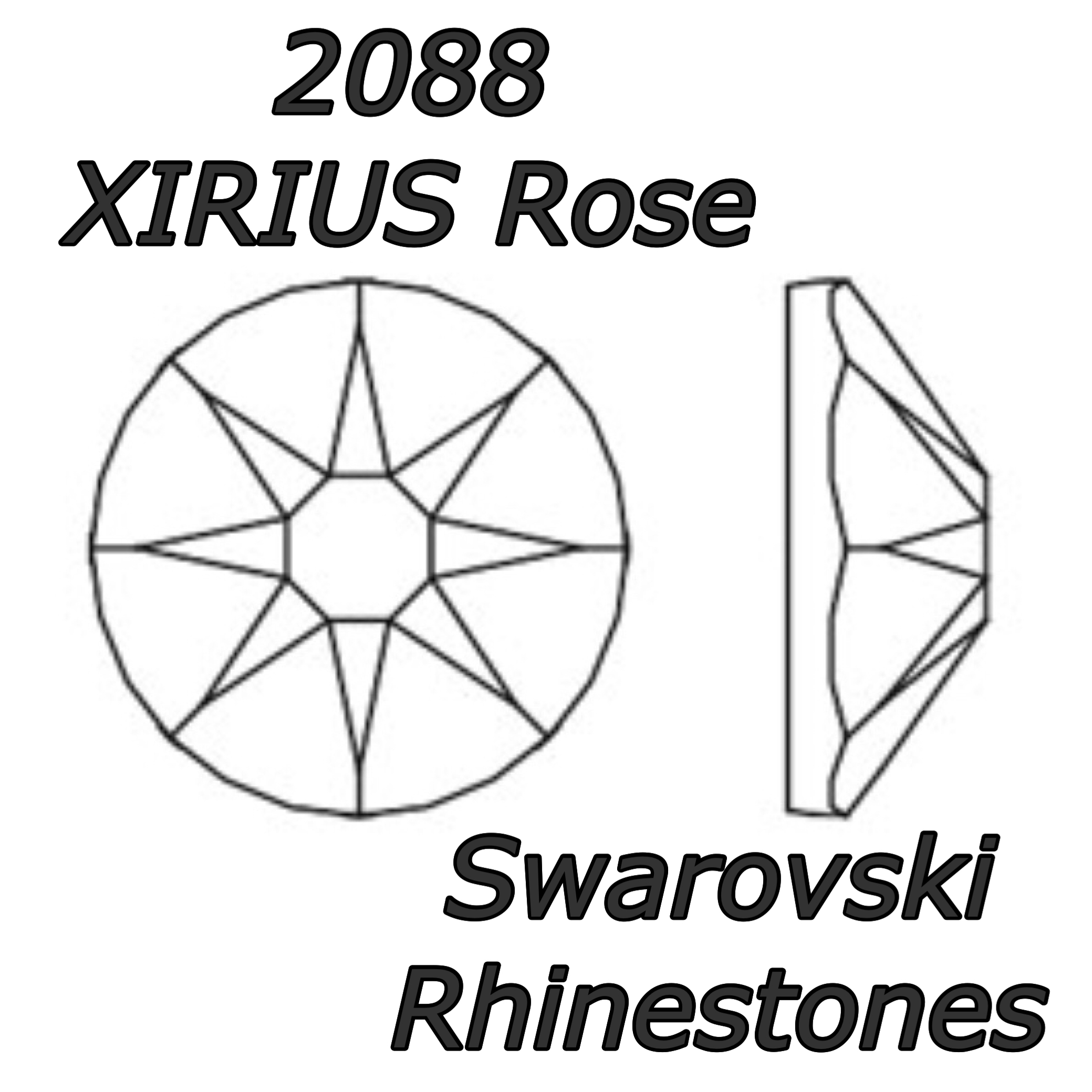 2088 Rhinestones