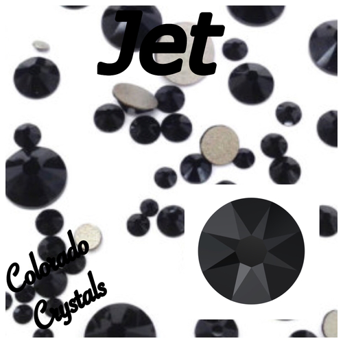 Jet 16ss 2088 Limited Swarovski Rhinestones UN-FOILED