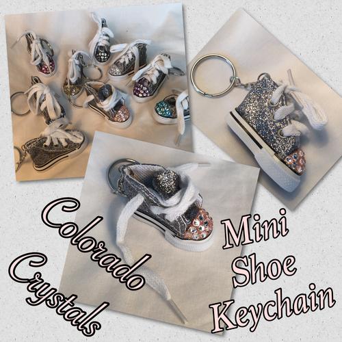 Swarovski Rhinestoned Key Chain Mini