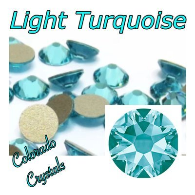 Light Turquoise 7ss 2058 Limited Crystals