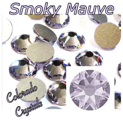 Smoky Mauve 20ss 2088 Rhinestones made by Swarovski