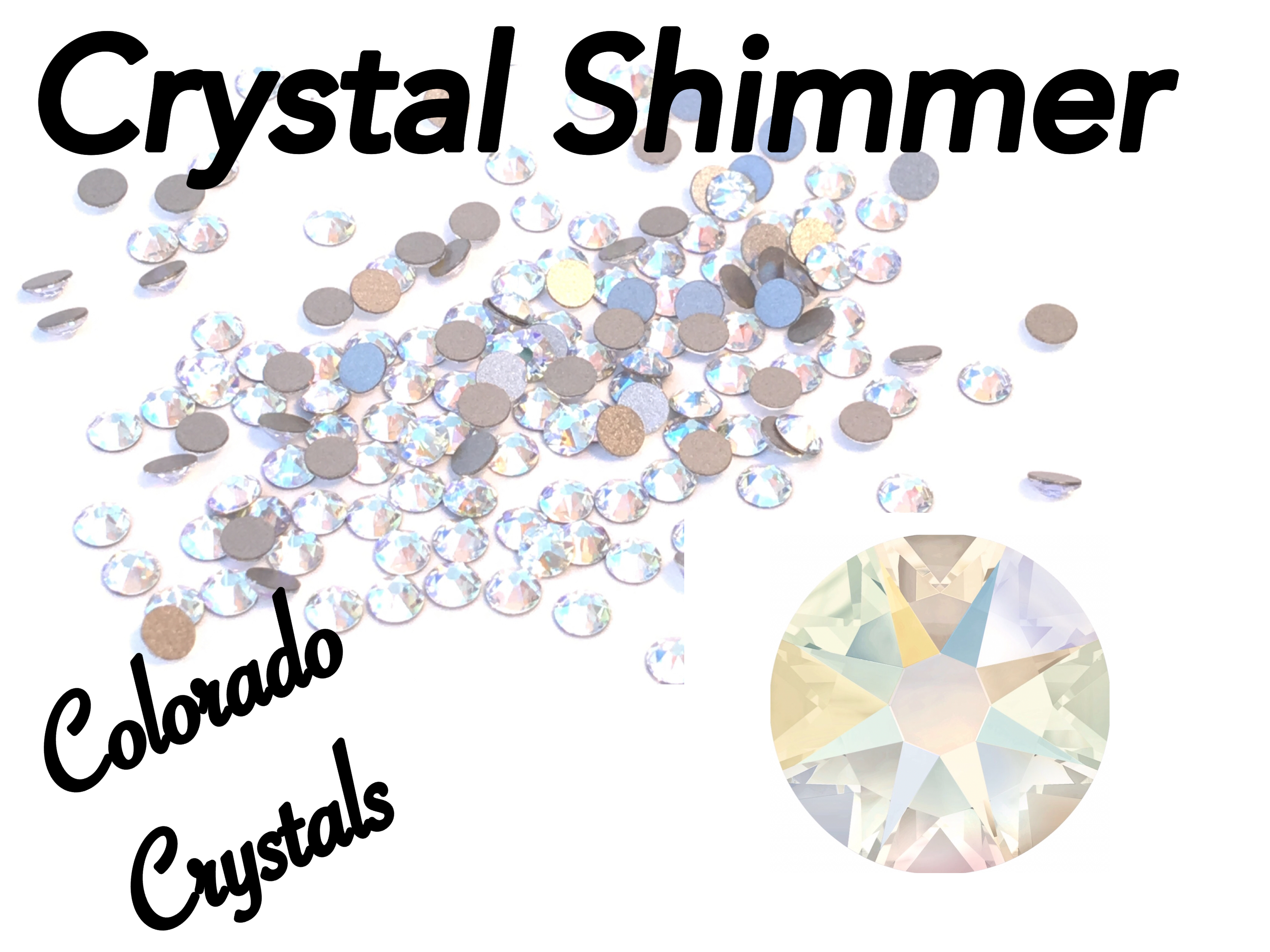 Crystal Shimmer 12ss 2088 Limited Swarovski XIRIUS Rhinestones 12808