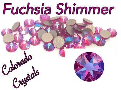 Fuchsia Shimmer 12ss 2088 Limited Swarovski Rhinestones
