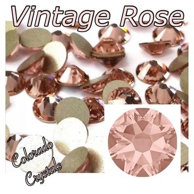 Vintage Rose 9ss 2058 Limited Swarovski Crystals