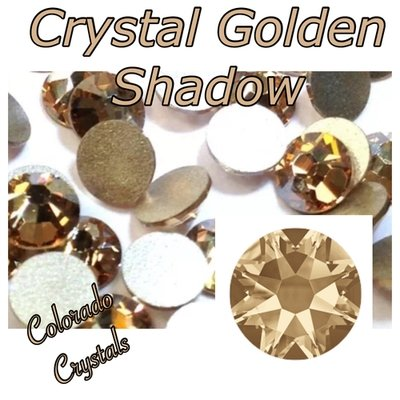 Crystal Golden Shadow 30ss Limited 2088 Swarovski No HF