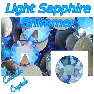 Light Sapphire Shimmer 9ss Limited Swarovski Crystals