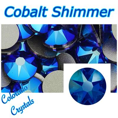 Cobalt Shimmer Limited Swarovski 20ss
