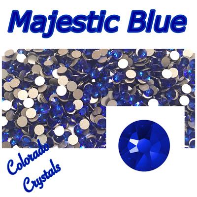 Majestic Blue 16ss Limited Swarovski XIRIUS Rose Rhinestones