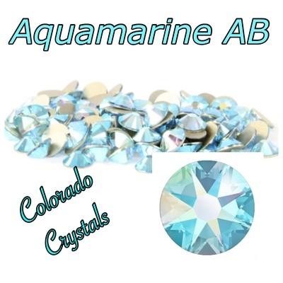 Aqua AB 20ss (Aquamarine AB) 2088 Swarovski Blue