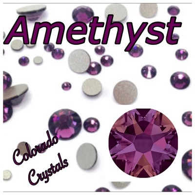 Amethyst 20ss 2088 Limited Swarovski Purple Crystals
