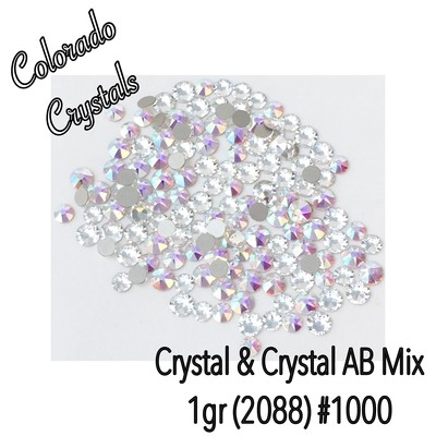 Crystal & Crystal AB Combo pack Swarovski 2088