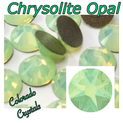 Chrysolite Opal 20ss 2088 Limited Swarovski Green Crystals
