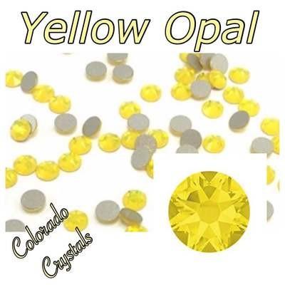 Yellow Opal 20ss 2088 Swarovski Crystals Foiled Bulk
