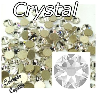 Crystal 7ss 2058 Limited Clear Swarovski Nail Art Size Bling