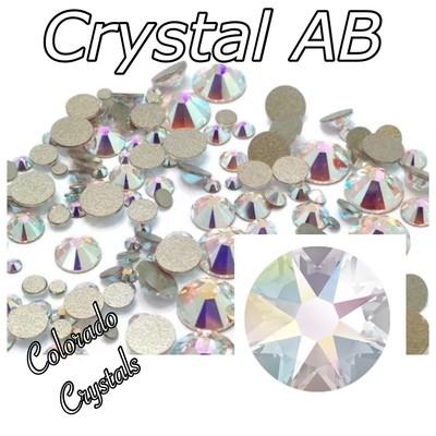 Crystal AB 9ss 2058 Swarovski XIlion Rose Rhinestones