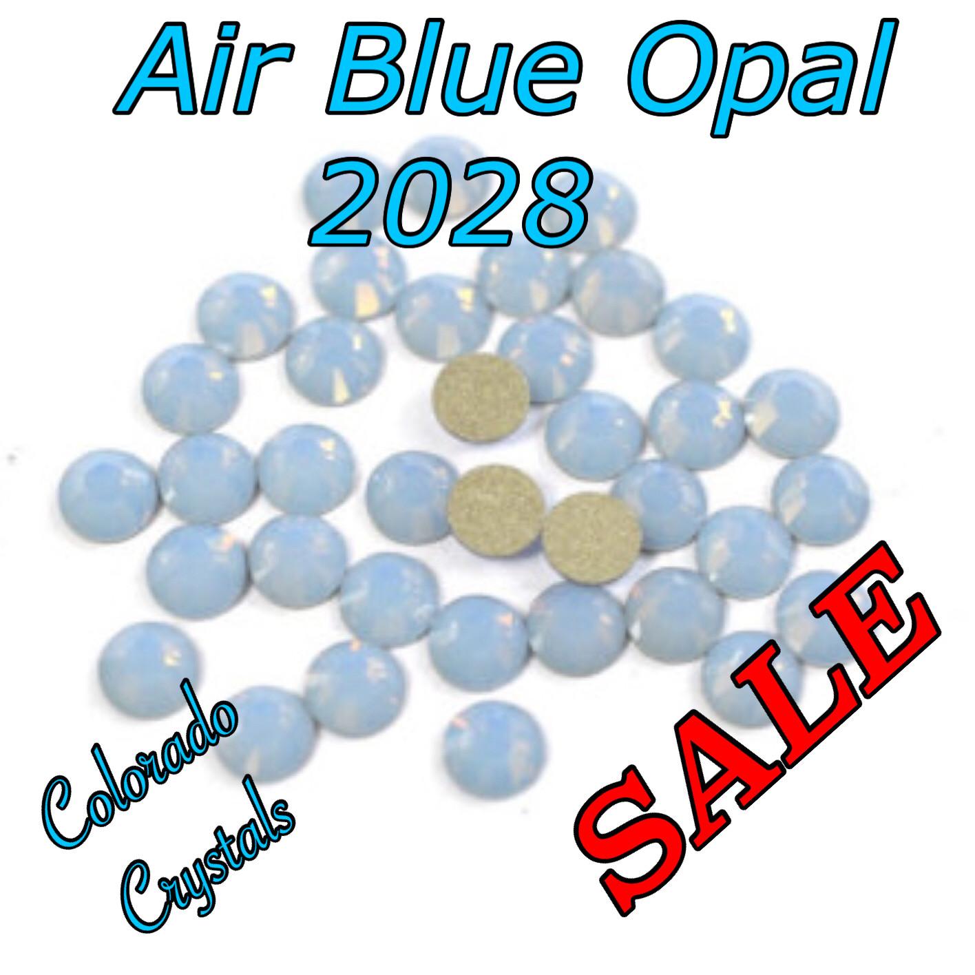 Air Blue Opal Clearance Swarovski Flat back Crystal 20