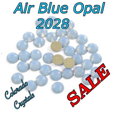Air Blue Opal Clearance Swarovski Flat back Crystal 20