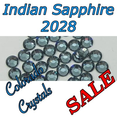 Indian Sapphire Swarovski Clearance Rhinestones 20s