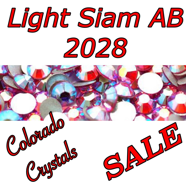 Light Siam AB Clearance Rhinestones Swarovski 5ss