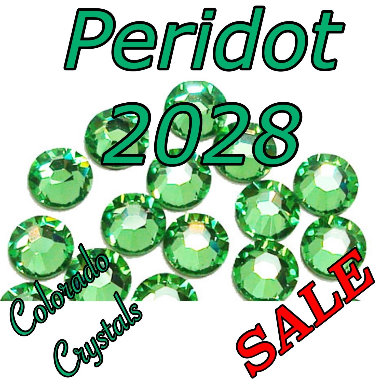 Peridot Reduced price rhinestones Swarovski 5ss