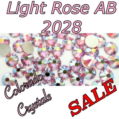 Light Rose AB Closeout Rhinestones Swarovski 5ss