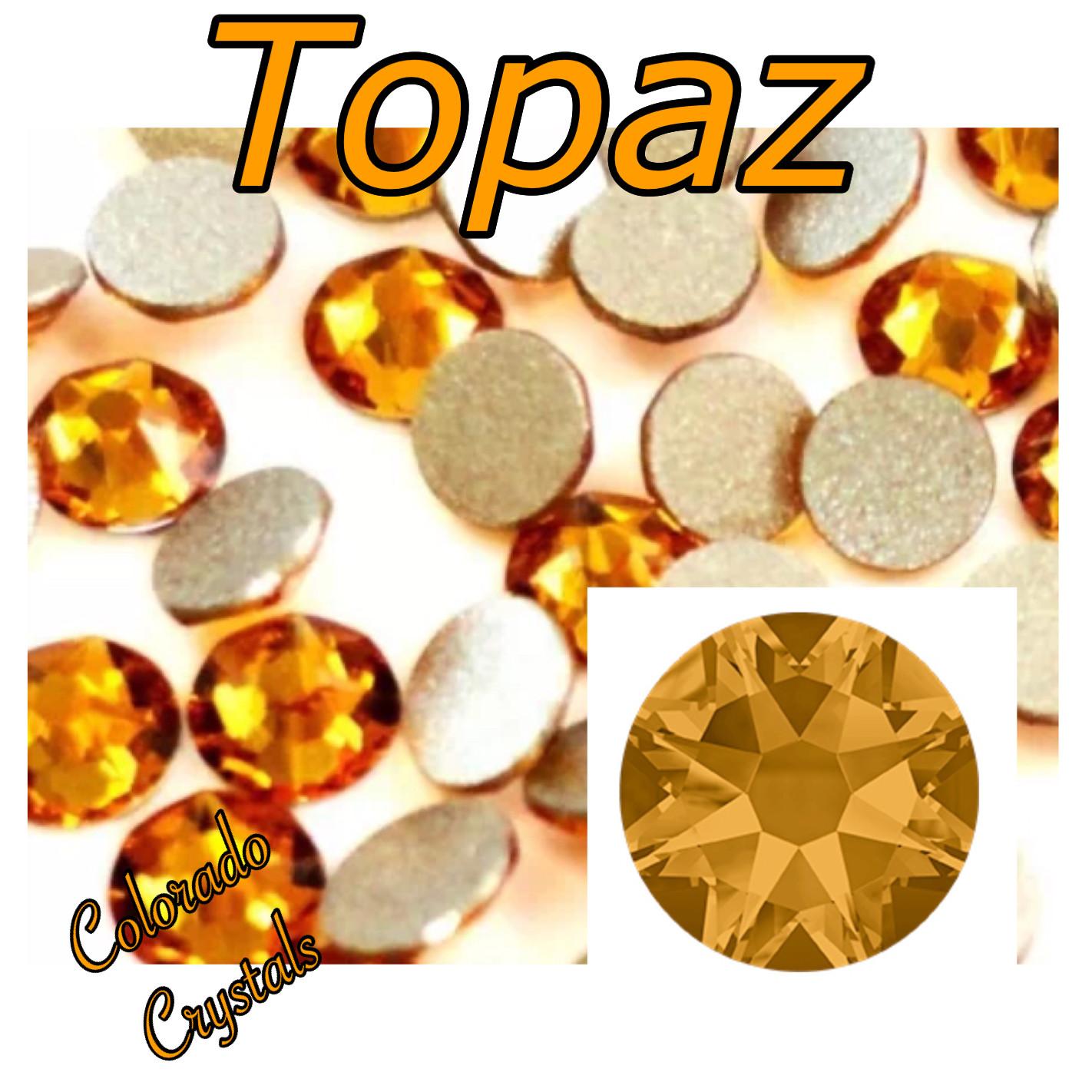 Topaz 20ss 2058 Discount Price on Swarovski Rhinestones