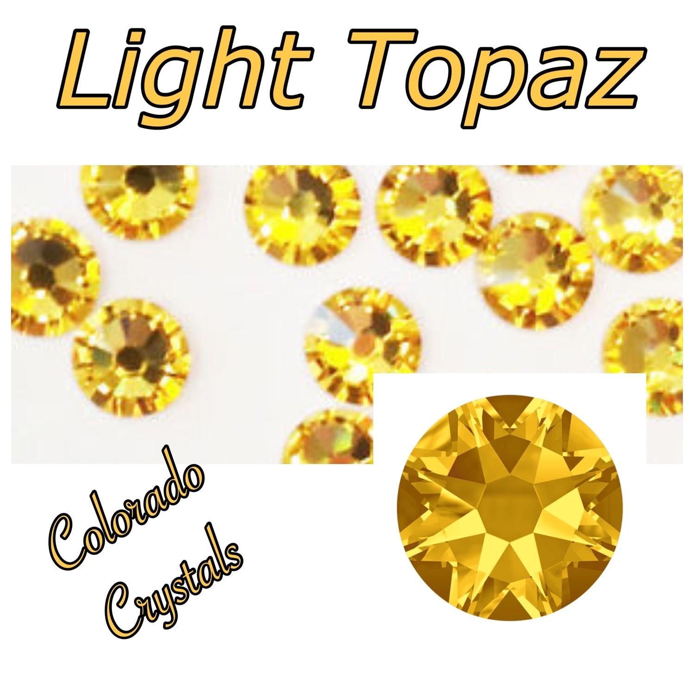 Light Topaz 30ss 2058 Swarovski Mark Down Bling