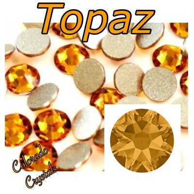 Topaz 16ss 2058 Discounted Swarovski Rhinestones Elements