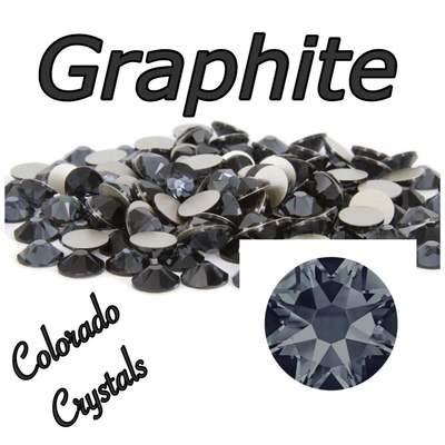 Graphite 20ss 2088 limited Swarovski Crystals