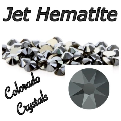 Jet Hematite 30ss 2088 Limited Swarovski Large Black Crystals