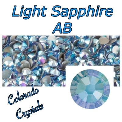 Light Sapphire AB 9ss 2058 Limited Discount Bling