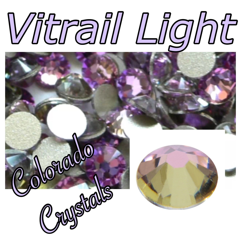 Vitrail Light 12ss 2058 Swarovski Discounted Rhinestones light purple