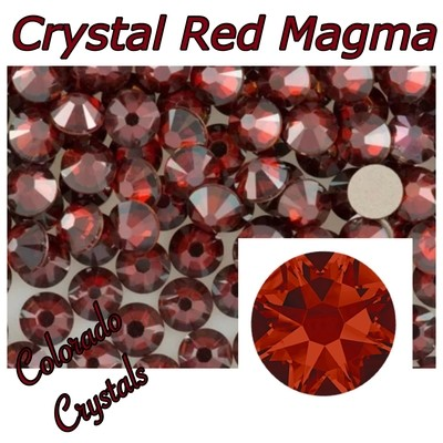 Red Magma Discount 30ss 2088 Limited Swarovski Crystals
