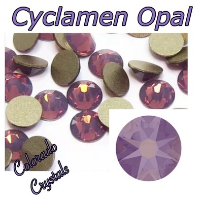 Cyclamen Opal 12ss 2088 Reduced Price Swarovski Purple Crystals
