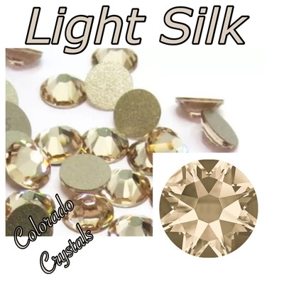 Light Silk 12ss 2088 Limited Swarovski Crystals