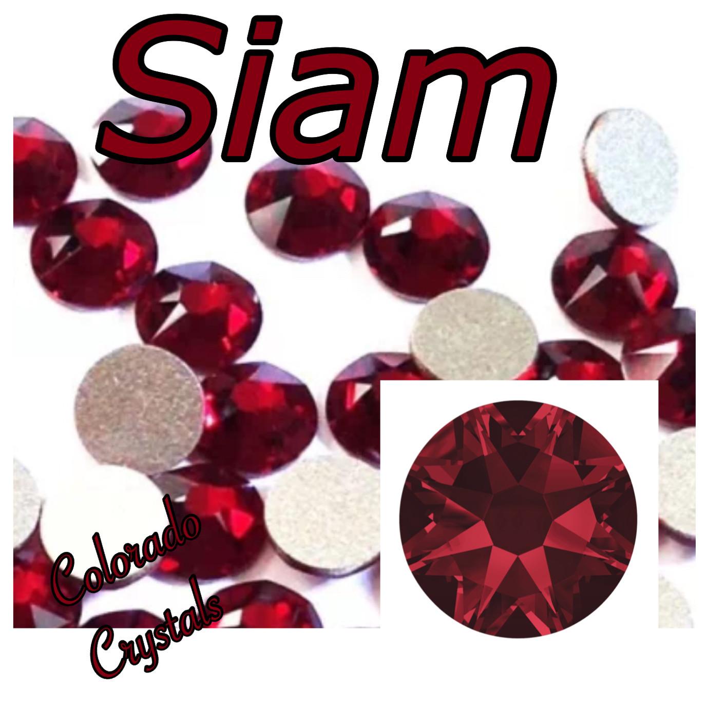 Siam 16ss 2088 Limited Swarovski Crystals Red