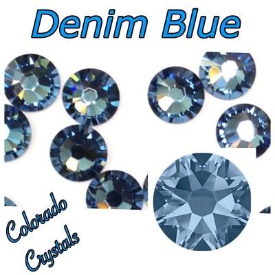Denim Blue 16ss 2088 Limited Blue Swarovski Crystals