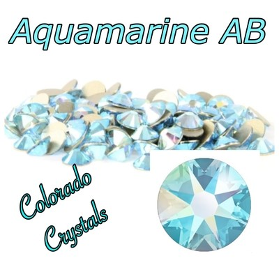 Aqua AB 12ss (Aquamarine AB) 2088 Limited Swarovski Blue