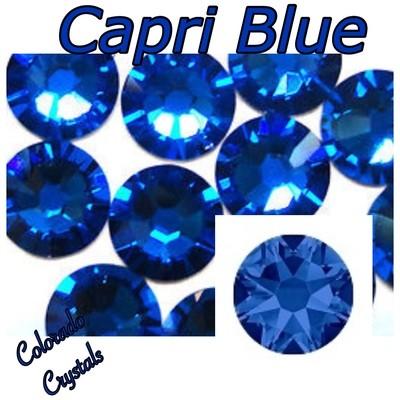 Capri Blue 5ss 2058 Limited Swarovski Crystals small size
